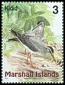 Cl: Grey-tailed Tattler (Heterosceles brevipes) SG 1109 (1999)