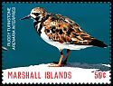 Cl: Ruddy Turnstone (Arenaria interpres)(Repeat for this country) (I do not have this stamp)  new (2018)