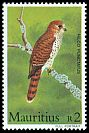 Cl: Mauritius Kestrel (Falco punctatus)(Endemic or near-endemic)  SG 679 (1984) 175