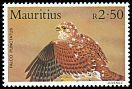 Cl: Mauritius Kestrel (Falco punctatus)(Endemic or near-endemic)  SG 680 (1984) 200