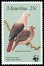 Cl: Pink Pigeon (Nesoenas mayeri)(Endemic or near-endemic)  SG 708 (1985) 175