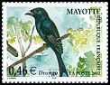 Cl: Mayotte Drongo (Dicrurus waldenii) <<Drongo>>  SG 173b (2002)