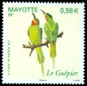 Cl: Madagascar Bee-eater (Merops superciliosus) <<Le Guepier>> (I do not have this stamp)  new (2011)  [7/13]