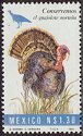 Cl: Wild Turkey (Meleagris gallopavo)(Endemic or near-endemic)  SG 2191 (1994) 125