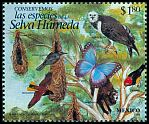 Cl: Harpy Eagle (Harpia harpyja) <<&Aacute;guila arpia>> (Repeat for this country)  SG 2362 (1996) 55
