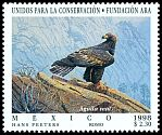 Cl: Golden Eagle (Aquila chrysaetos) <<Aguila real>>  SG 2549 (1998) 30