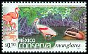 Cl: Caribbean Flamingo (Phoenicopterus ruber)(Repeat for this country)  SG 2710 (2002)