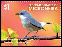 Cl: Mascarene White-eye (Zosterops borbonicus)(Out of range) (I do not have this stamp)  new (2015)