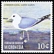 Cl: Mew Gull (Larus canus)(Out of range) (I do not have this stamp)  new (2014)