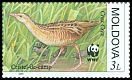 Cl: Corn Crake (Crex crex) <<Cristel-de-c&acirc;mp>> (Repeat for this country)  SG 385 (2001)