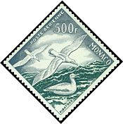Cl: Unidentified (Nil desperandum) <<Albatros>> (Stylised)  SG 510 (1955) 3000