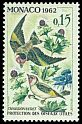 Cl: European Goldfinch (Carduelis carduelis) <<Chardonneret>>  SG 732 (1962) 30