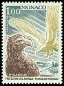 Cl: White-tailed Eagle (Haliaeetus albicilla) <<Pygargue>> (Out of range)  SG 981 (1970) 160