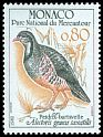 Cl: Rock Partridge (Alectoris graeca saxatilis) <<Perdrix bartavelle>>  SG 1561 (1982) 35