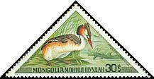 Cl: Great Crested Grebe (Podiceps cristatus) SG 767 (1973) 85