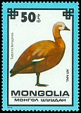 Cl: Ruddy Shelduck (Tadorna ferruginea) SG 1237 (1979) 60