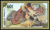 Cl: Ruffed Grouse (Bonasa umbellus)(Out of range) (I do not have this stamp)  SG 1780 (1986) 100 [8/4]