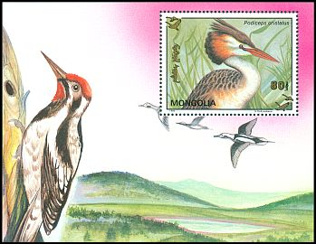 Cl: Great Crested Grebe (Podiceps cristatus)(Repeat for this country)  SG 2398a (1993)  [11/7]