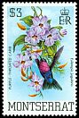 Cl: Purple-throated Carib (Eulampis jugularis)(Repeat for this country)  SG 574 (1983)