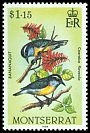 Cl: Bananaquit (Coereba flaveola)(Repeat for this country)  SG 610 (1984)
