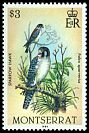 Cl: American Kestrel (Falco sparverius) <<Sparrowhawk>> (Repeat for this country)  SG 611 (1984)