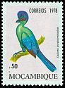 Cl: Purple-crested Turaco (Tauraco porphyreolophus) SG 705 (1978) 15