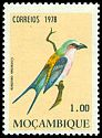 Cl: Lilac-breasted Roller (Coracias caudata) SG 706 (1978) 20