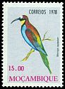Cl: European Bee-eater (Merops apiaster)(Repeat for this country)  SG 710 (1978) 85