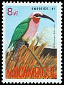 Cl: White-fronted Bee-eater (Merops bullockoides)(Repeat for this country)  SG 1153 (1987) 5