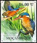 Mozambique <<Guarda-rios Malachite>> new (2011)
