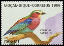 Cl: Lilac-breasted Roller (Coracias caudata)(Repeat for this country)  new (1999)  [2/11]