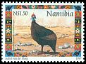 Cl: Helmeted Guineafowl (Numida meleagris)(Repeat for this country)  SG 747 (1997)