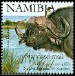 Cl: Yellow-billed Oxpecker (Buphagus africanus) SG 1090e (2007)