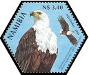 Cl: African Fish-Eagle (Haliaeetus vocifer)(Repeat for this country)  SG 982a (2004)
