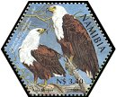Cl: African Fish-Eagle (Haliaeetus vocifer)(Repeat for this country)  SG 982b (2004)