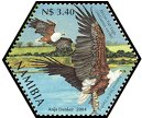 Cl: African Fish-Eagle (Haliaeetus vocifer)(Repeat for this country)  SG 982h (2004)  [3/54]