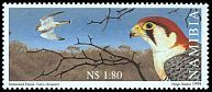 Cl: Red-necked Falcon (Falco chicquera) SG 838 (1999)