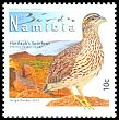 Cl: Hartlaub's Francolin (Francolinus hartlaubi)(Endemic or near-endemic)  SG 1181 (2012)