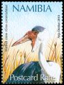 Cl: Wattled Crane (Grus carunculatus)(Repeat for this country)  SG 1134 (2010)