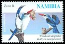 Cl: Woodland Kingfisher (Halcyon senegalensis)(Repeat for this country)  SG 1251 (2014)