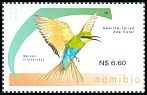 Cl: Swallow-tailed Bee-eater (Merops hirundineus)(Repeat for this country)  SG 1261 (2015)