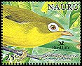 Cl: Bridled White-eye (Zosterops conspicillatus)(Out of range)  SG 602a1 (2005)  [6/9]