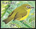 Cl: Bridled White-eye (Zosterops conspicillatus)(Out of range)  SG 602a4 (2005)  [6/9]