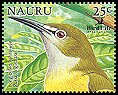 Cl: Long-billed White-eye (Rukia longirostra)(Out of range)  SG 602a5 (2005)  [6/9]