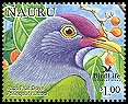 Cl: Rapa Fruit-Dove (Ptilinopus huttoni)(Out of range)  SG 602c4 (2005)  [6/9]