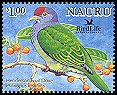 Cl: Henderson Island Fruit-Dove (Ptilinopus insularis)(Out of range)  SG 602c2 (2005)  [6/9]