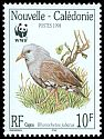 Cl: Kagu (Rhynochetos jubatus)(Endemic or near-endemic)  SG 1151 (1998)