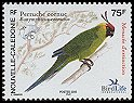 Cl: Horned Parakeet (Eunymphicus cornutus) <<Peruche cornue>> (Endemic or near-endemic)  SG 1351 (2005)  [5/8] I have 4 spare [2/16]