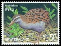 Cl: Weka (Gallirallus australis)(Endemic or near-endemic)  SG 2374 (2000)