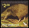 Cl: Southern Brown Kiwi (Apteryx australis)(Endemic or near-endemic)  SG 2809 (2005)